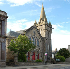 St Leonards Church Forres