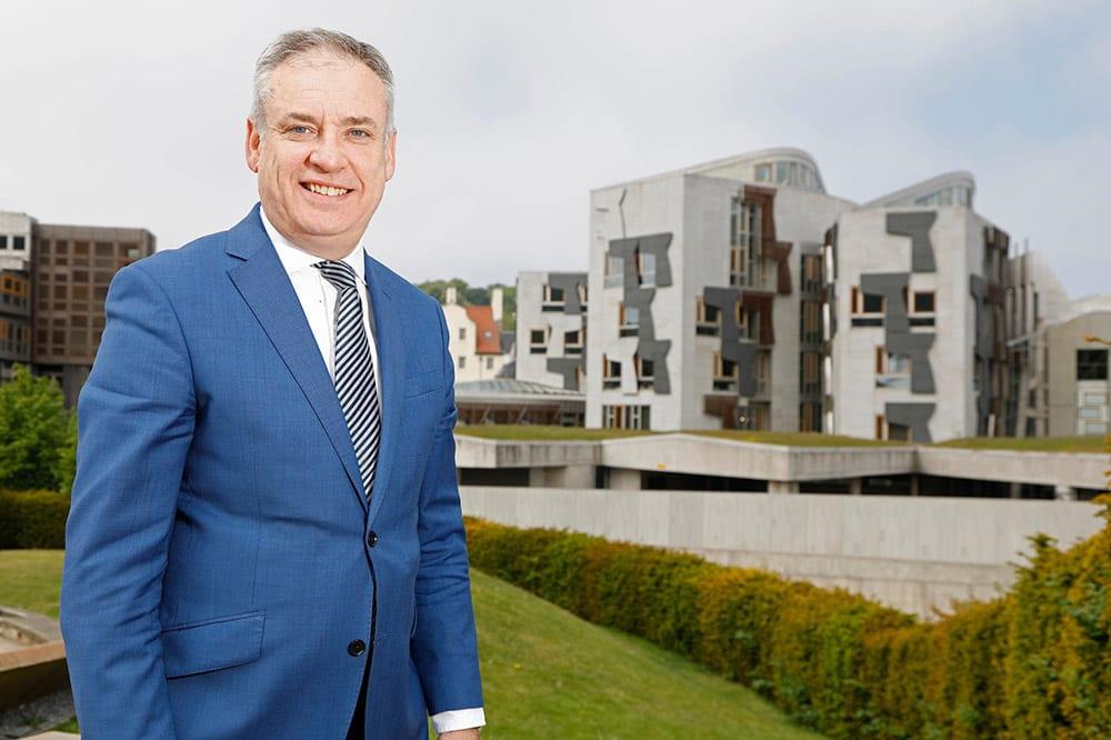 MSP for Moray Richard Lochhead