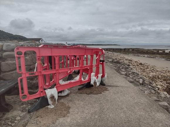 Lossiemouth West Beach path