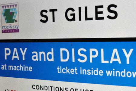 St Gles Car Park, Elgin